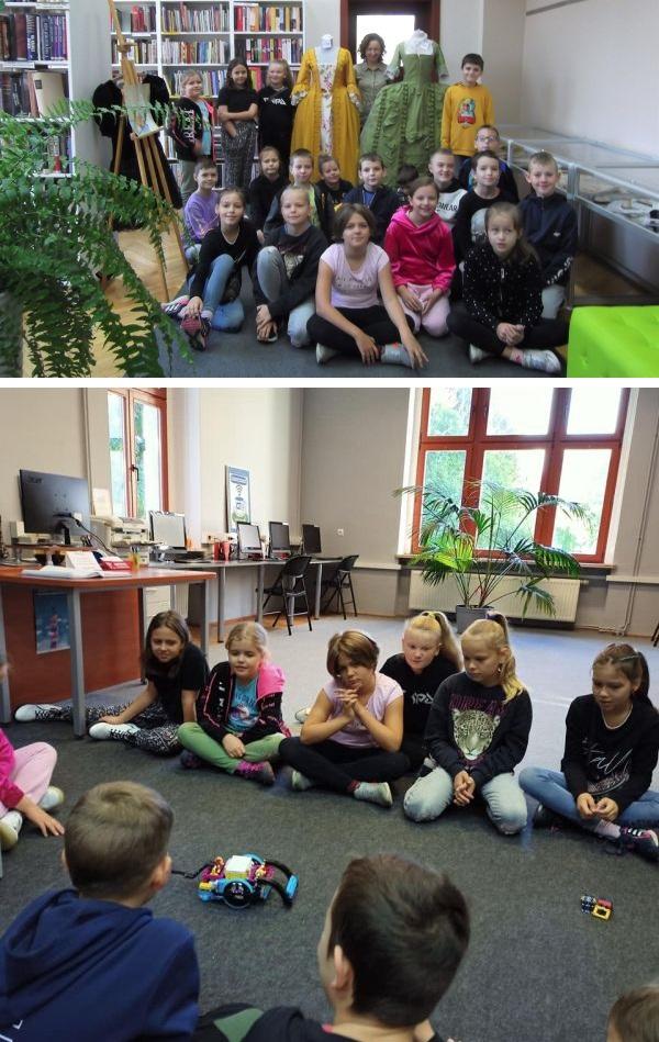 Wycieczka do biblioteki klasy 3a